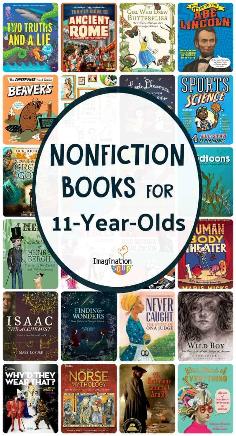 Nonfiction Books for 11 Year Olds (6th Grade)