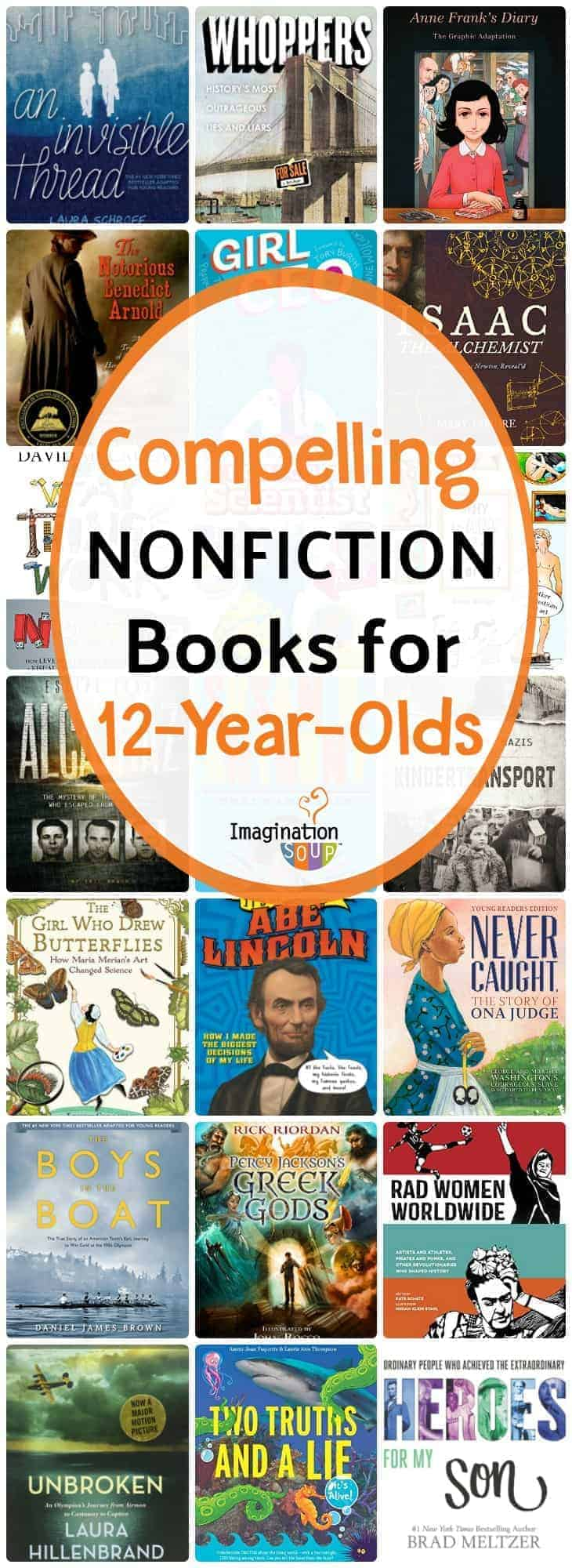 Nonfiction Books for 12-Year-Olds (7th Grade)