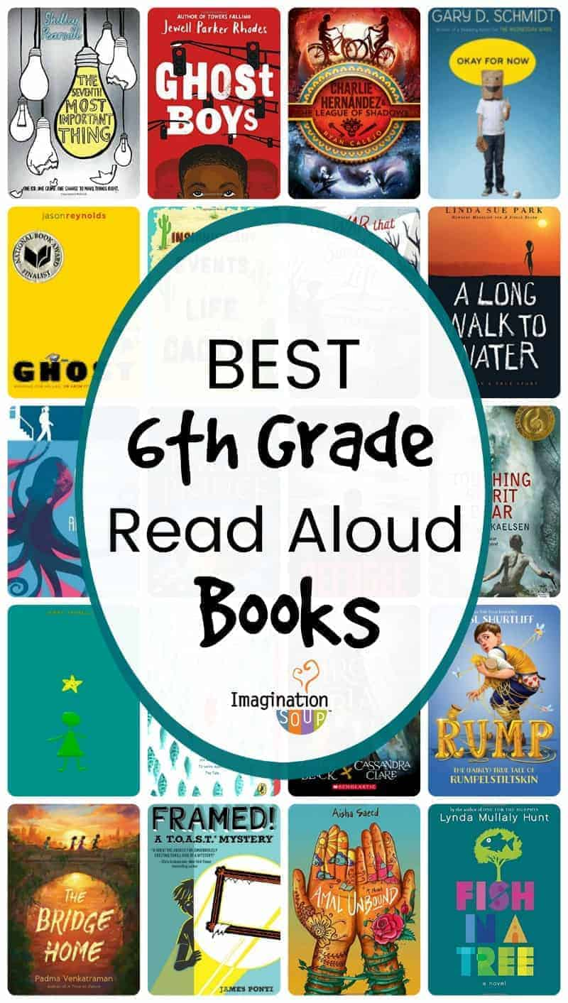 best 6th grade read aloud book list