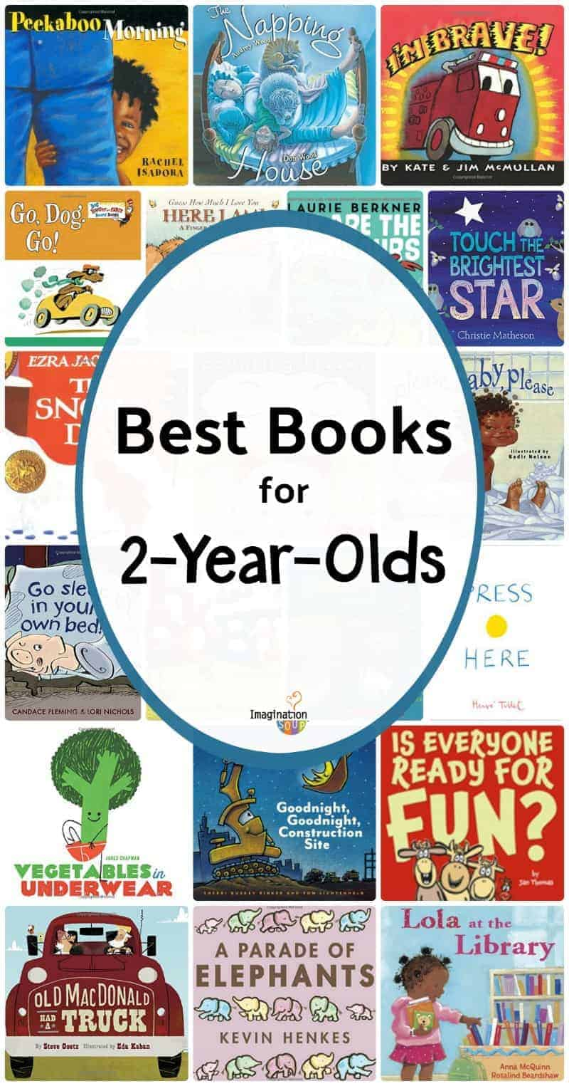 20 Best Books to Read to 2-Year-Olds