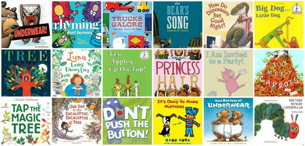 best picture books for 3 year old kids