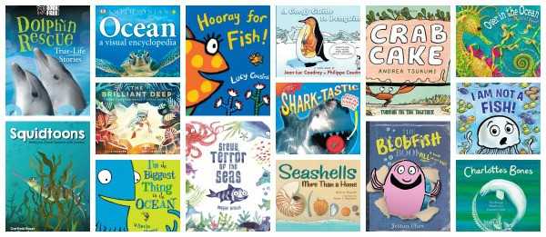 best books for kids about ocean animals