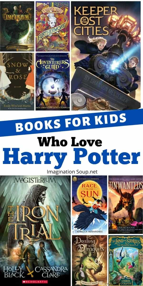 chapter books for kids who love Harry Potter