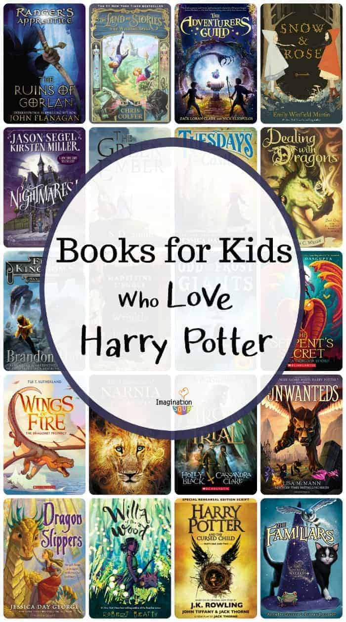 read alike books for kids who love Harry Potter