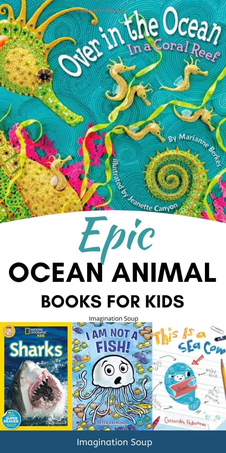 epic ocean animal books for kids
