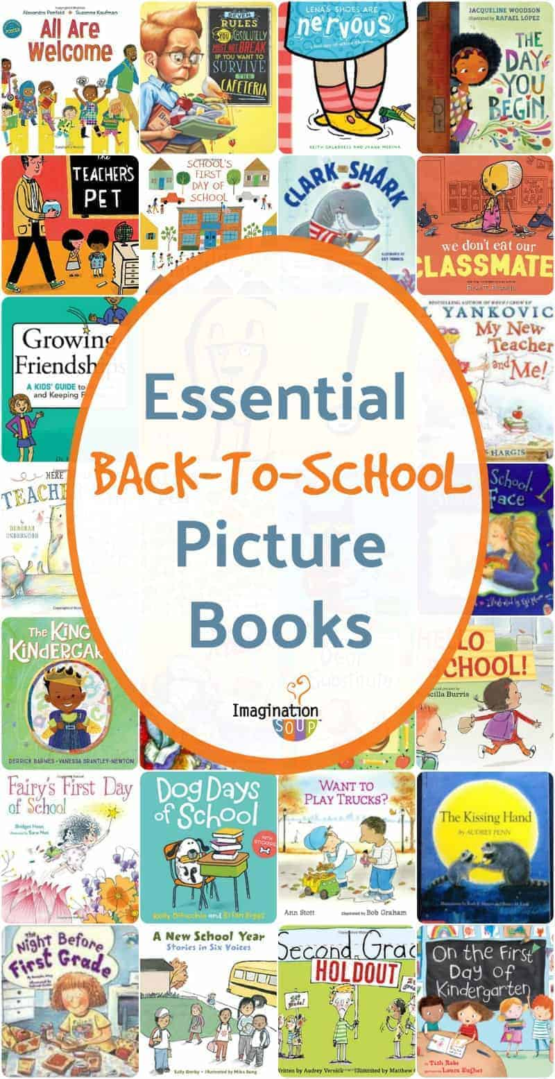 essential back to school picture books