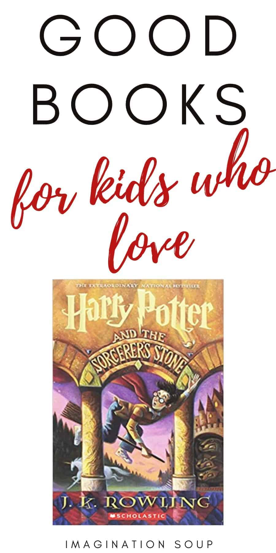 good books for kids who love Harry Potter