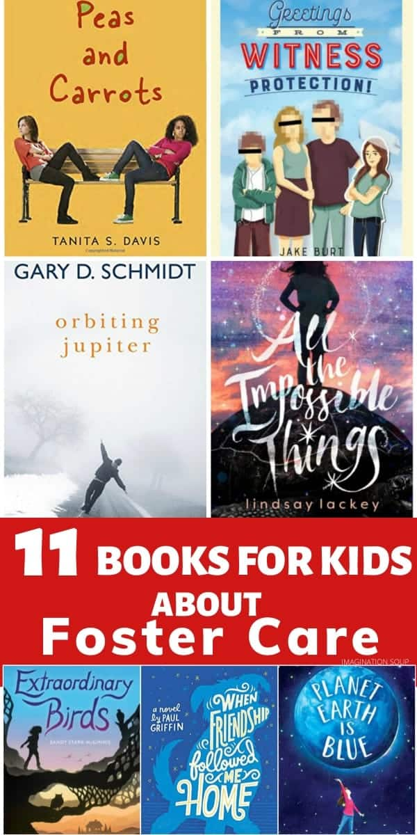 good chapter books for kids about foster care