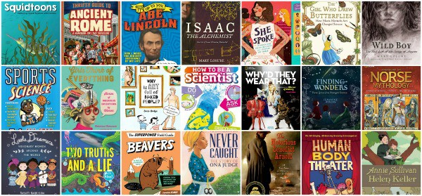good nonfiction books for 6th grade (11 year olds)