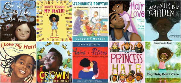 picture books for kids about hair