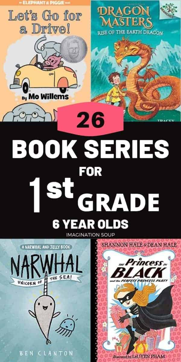 best illustrated easy chapter book series for 1st graders (6 year olds)