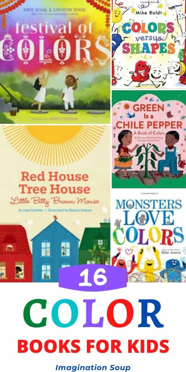 best picture books that teach kids about color for toddlers and preschoolers