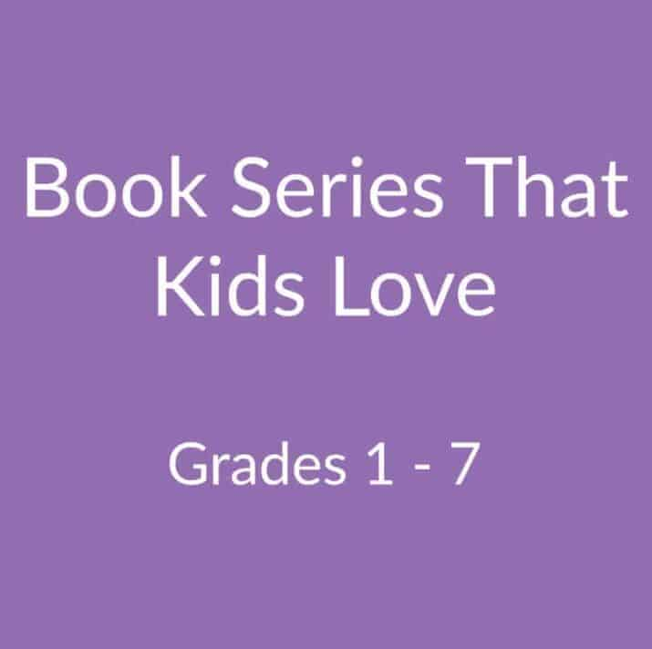 book series that kids love elementary middle