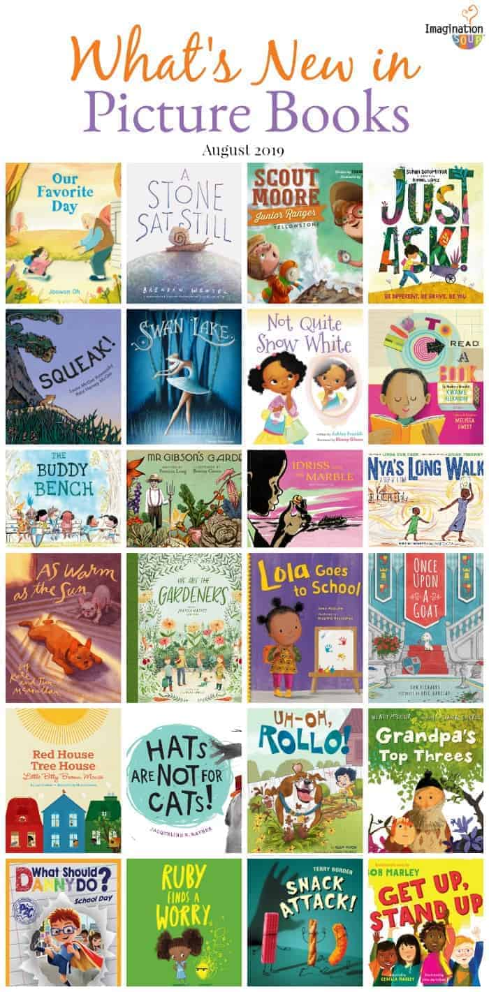 new picture books August 2019