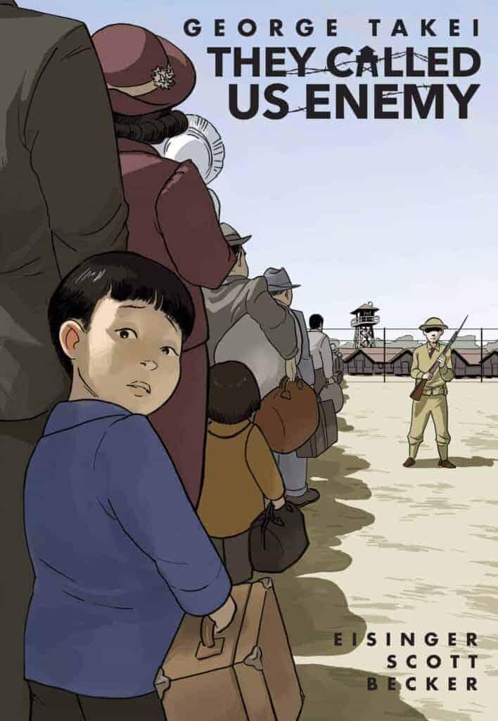 YA historical fiction graphic novel