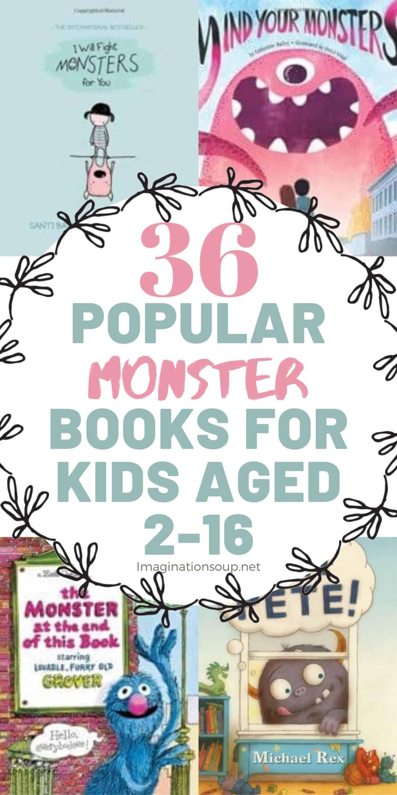 36 popular monster books