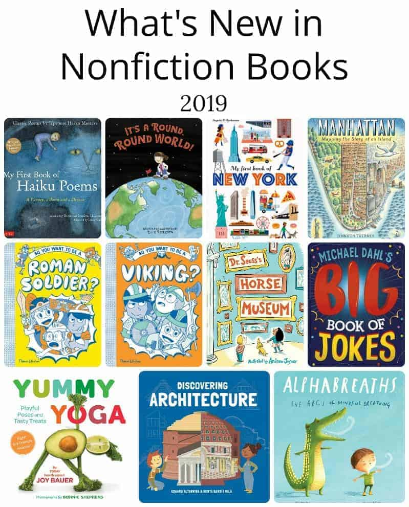 What's New in Nonfiction for Ages 2 - 12 (2019)
