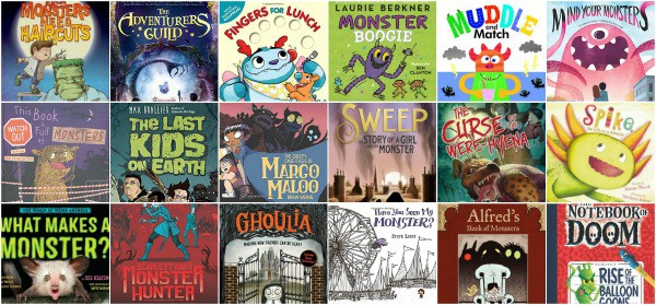 books about monsters