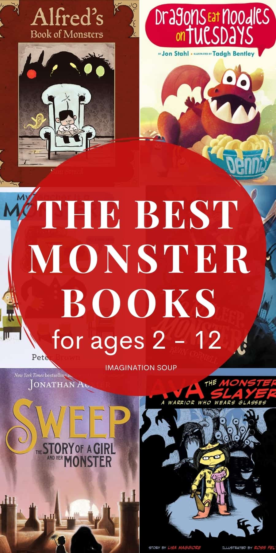the best monster books for kids