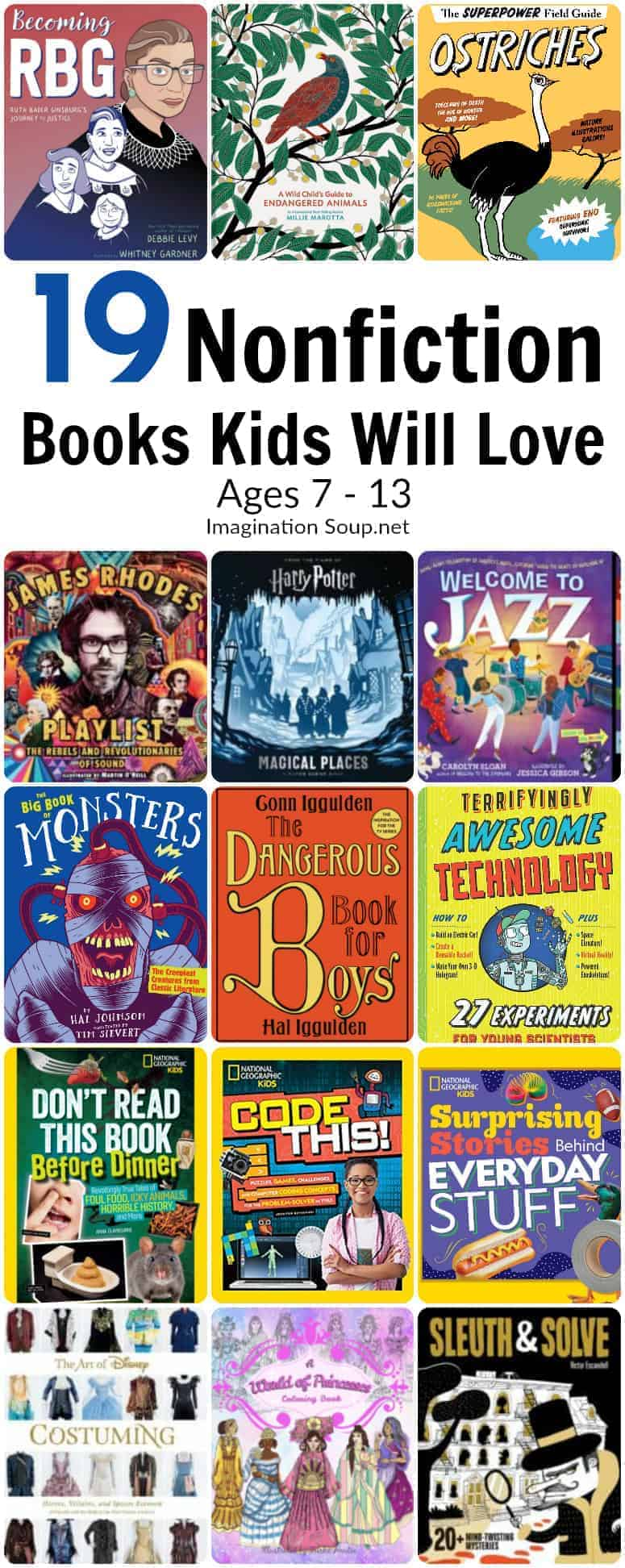 19 New Nonfiction Books Kids Will Love (Ages 7 - 13)