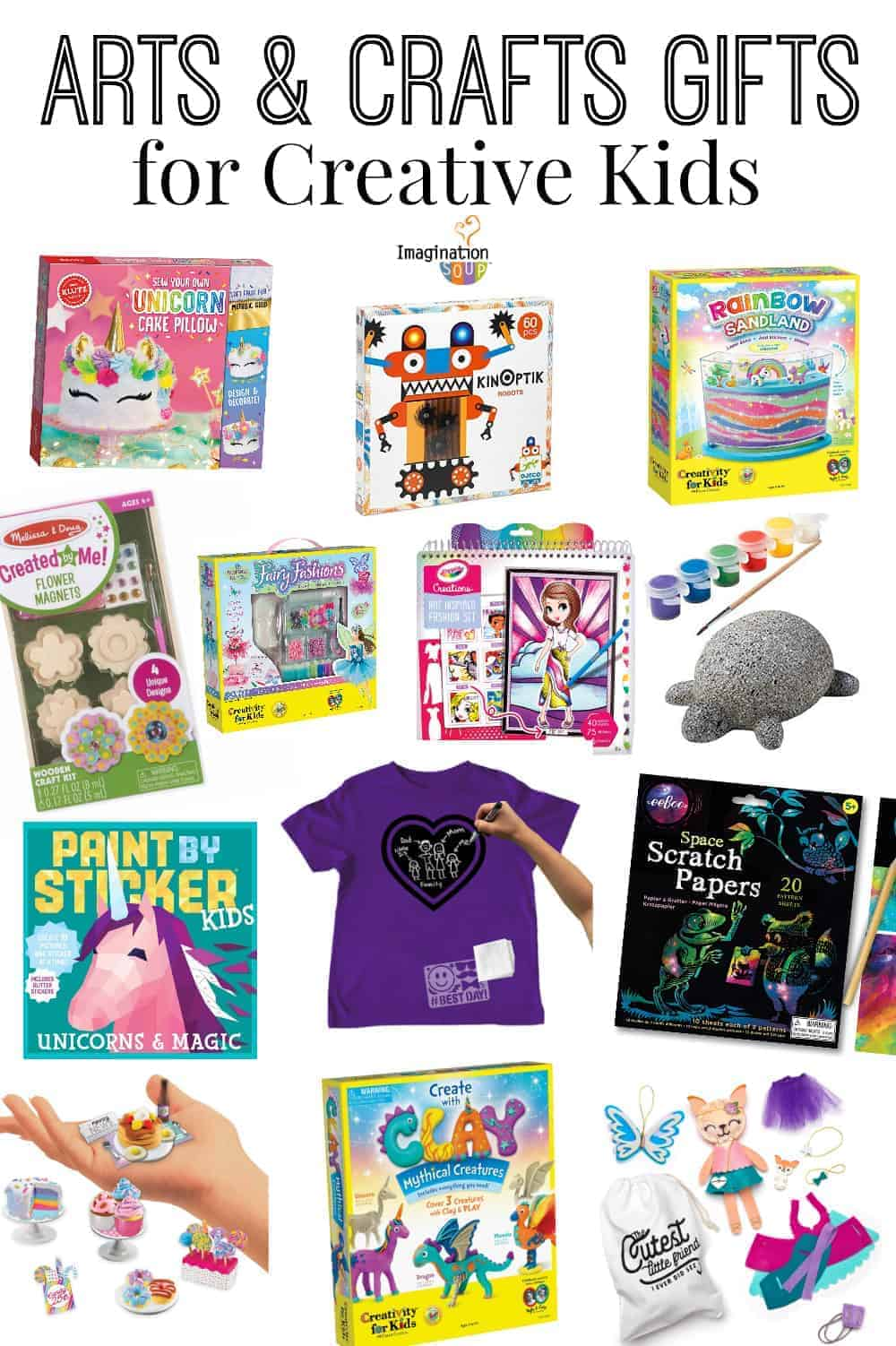 2019 Best Arts and Crafts Gifts for Creative Kids