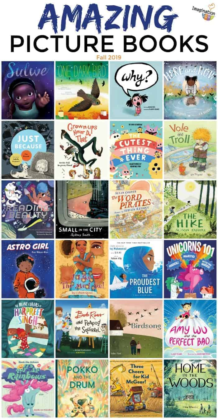 27 Amazing New Picture Books, October 2019