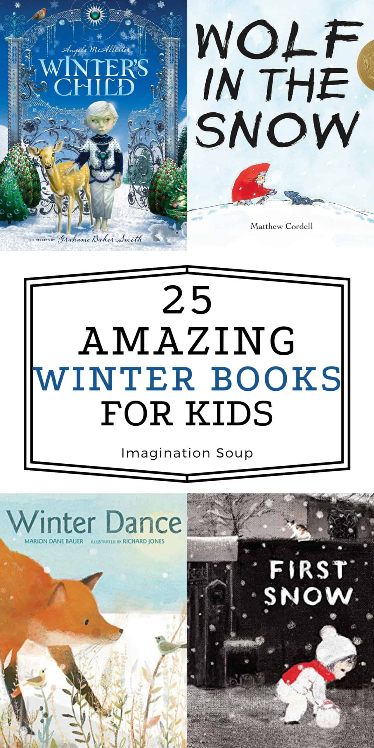 Amazing books about winter for children
