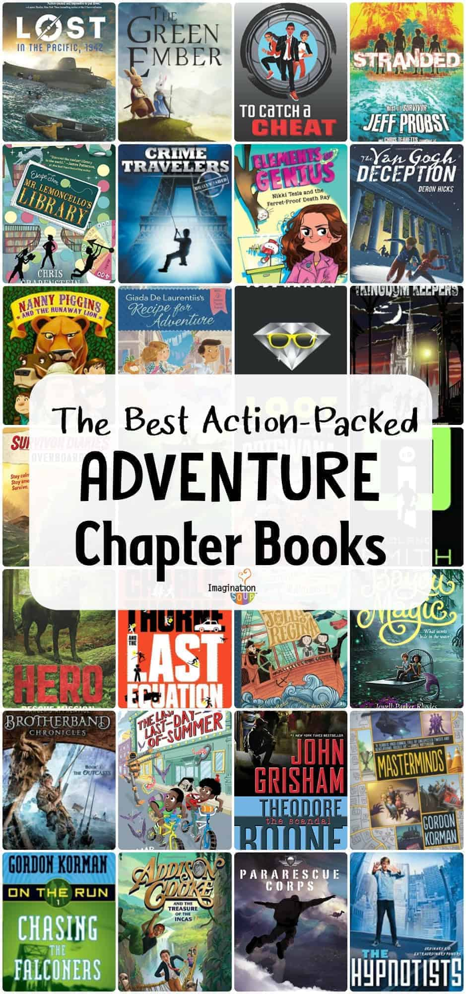 Awesome Action-Packed Adventure Chapter Books for Kids