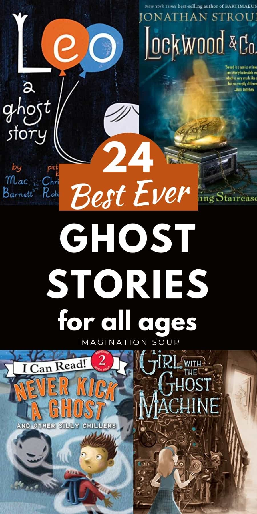 best children's books about ghosts