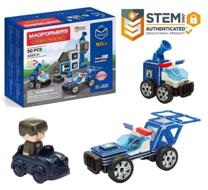 Magformers Police STEM gift