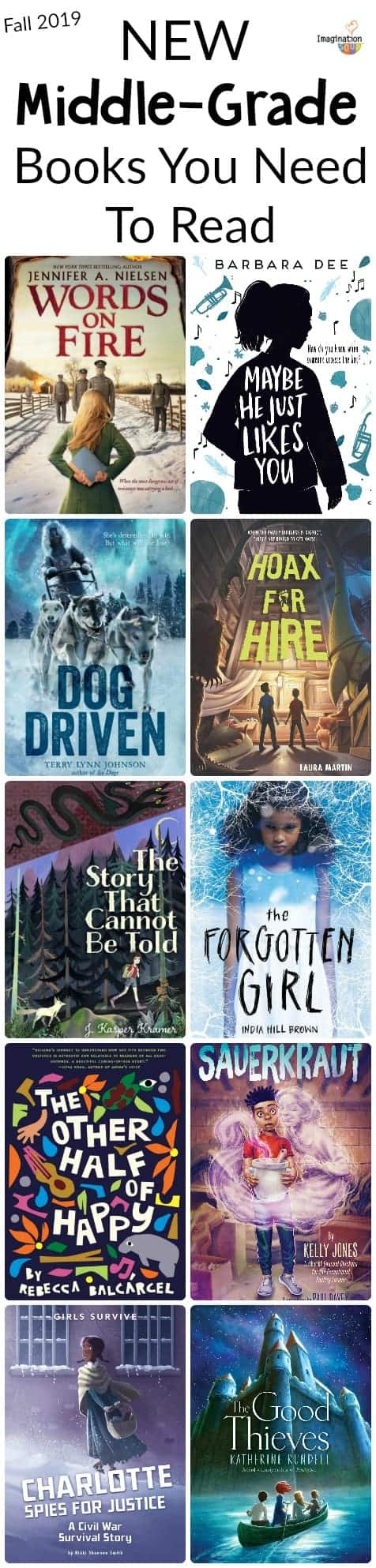 New Middle Grade Books You Should Know About