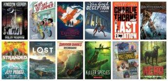 action and adventure chapter books for kids