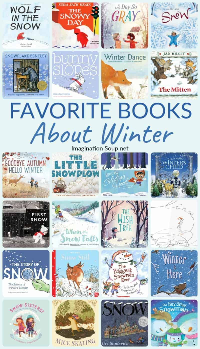 Read these favorite children's books about winter with your kids!