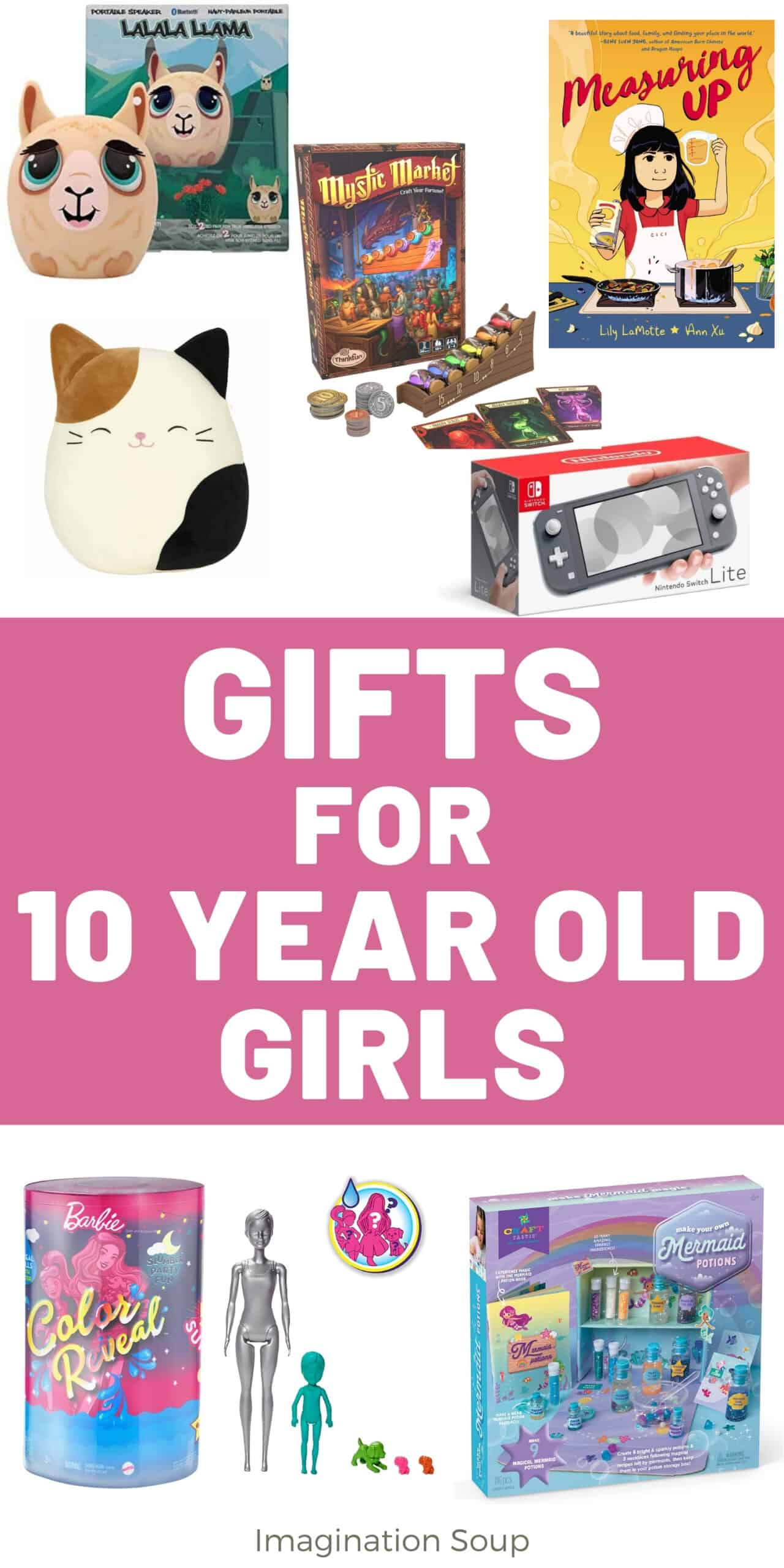 the best gifts for 10 year old girls