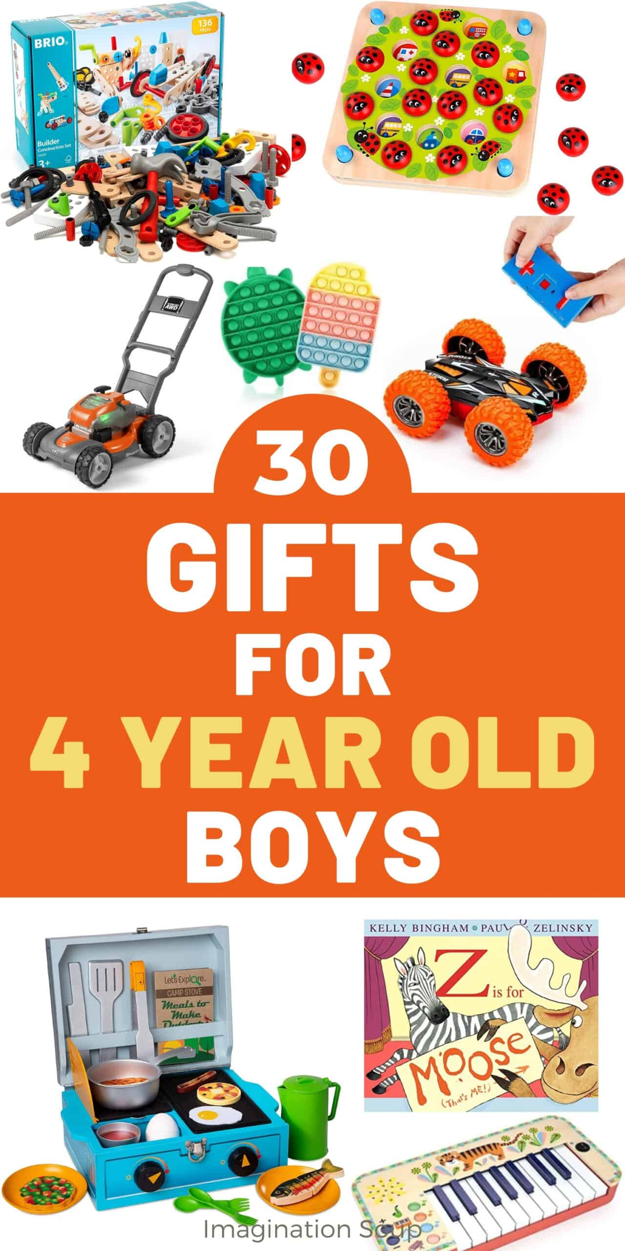 toys and gifts for 4 year old boys