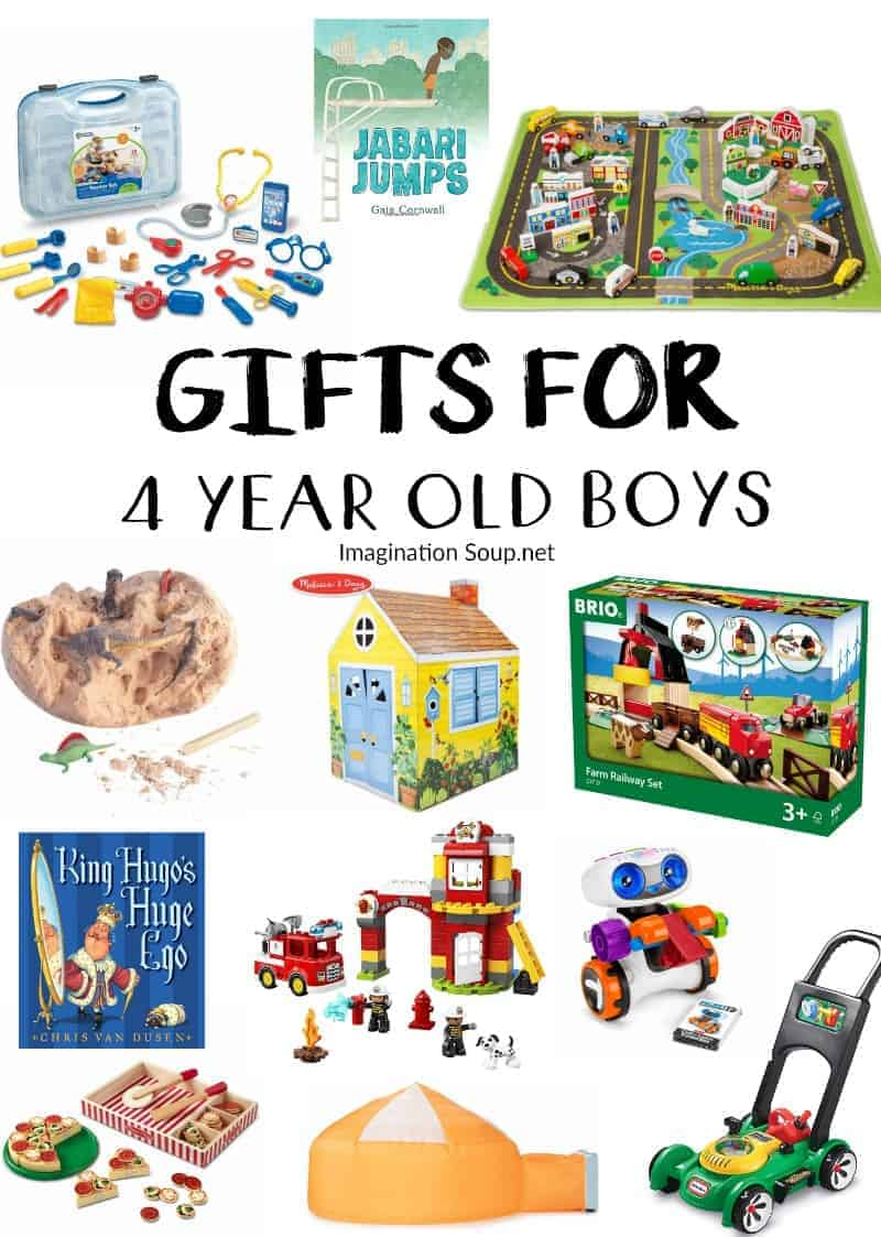 gifts for 4 year old boys that they'll love