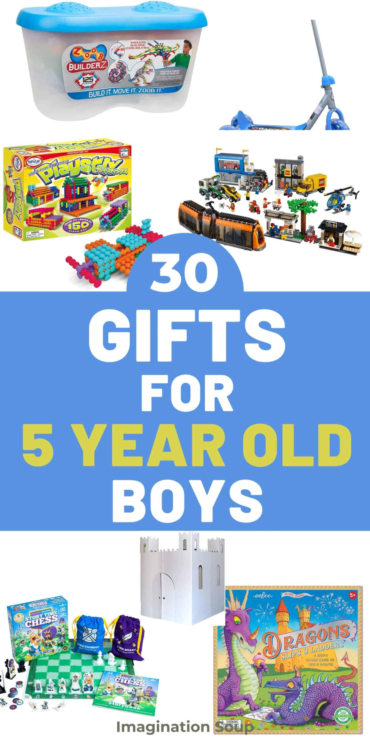 best toys and gifts for 5 year old boys