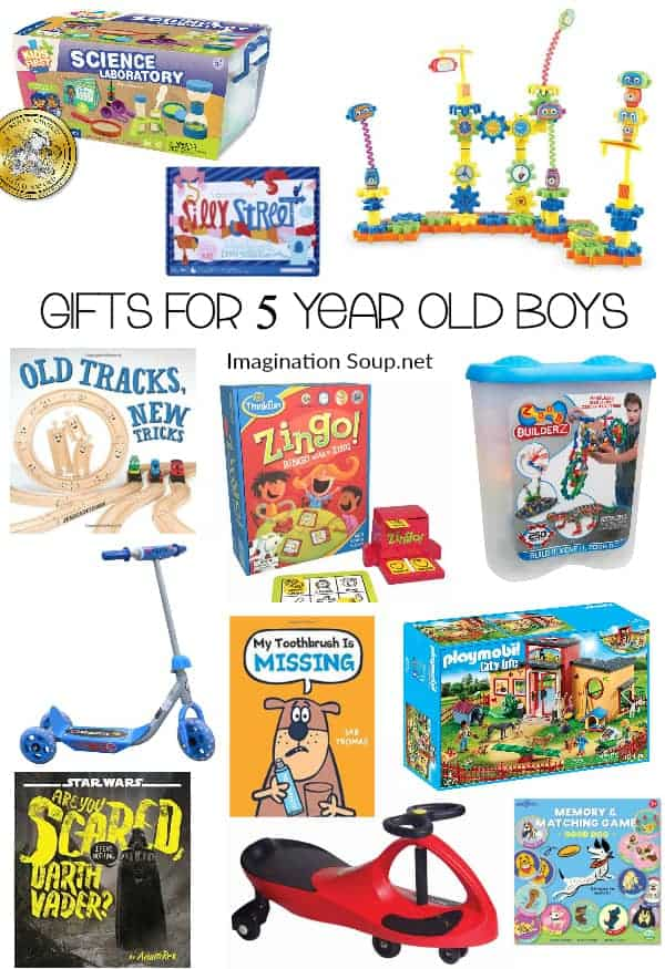 amazing gifts for 5 year old boys