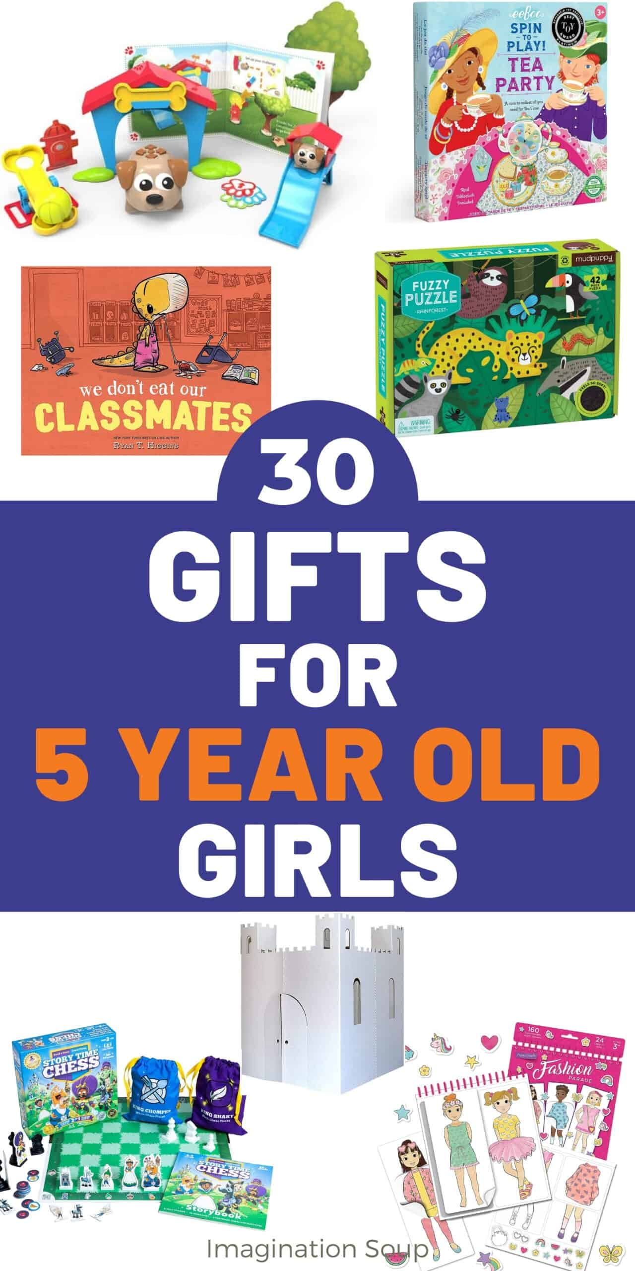 toys and gifts for 5 year old girls