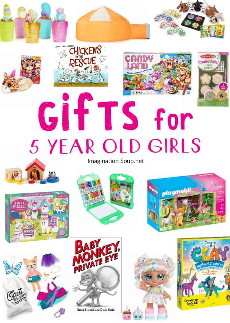 Popular gifts for 5 year old girls
