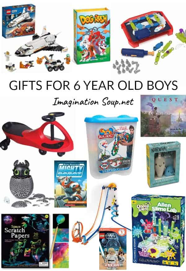 Cool toys and gifts for 6 year old boys