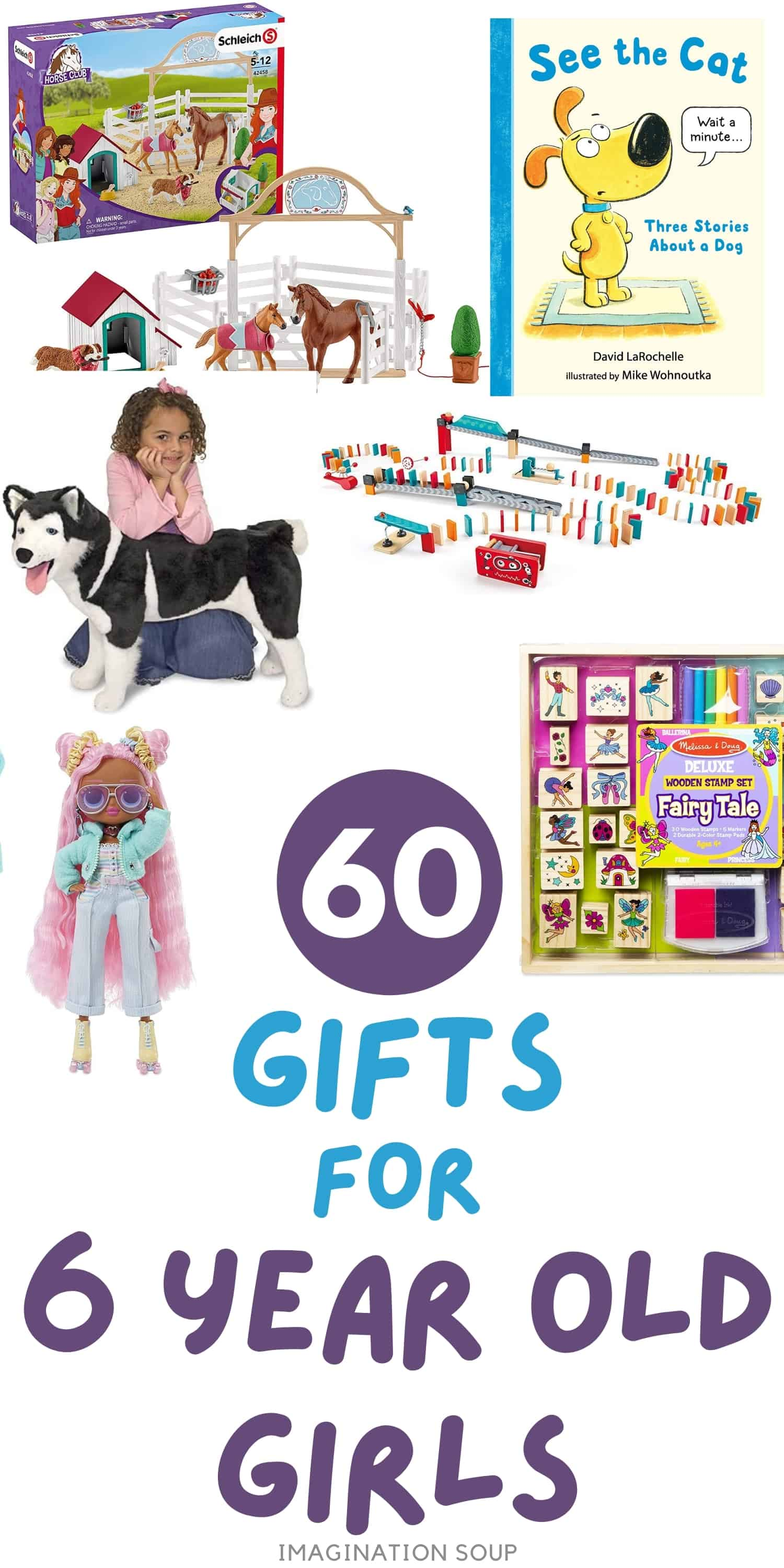 creative toys and gifts for 6 year old girls