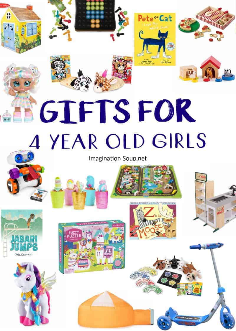 gifts for for 4 year old girls