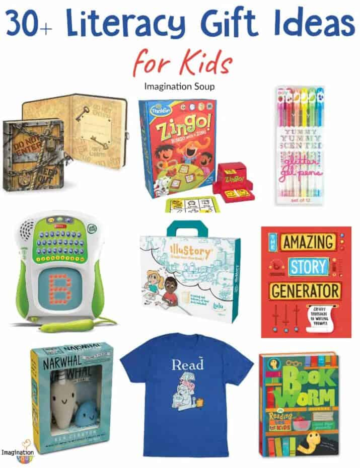 30+ creative literacy gift ideas for kids