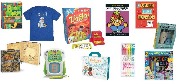 literacy gifts for growing readers and writers