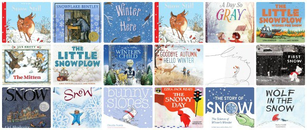 picture books about winter