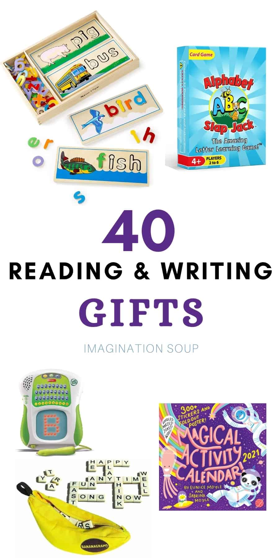 reading and writing gifts for kids