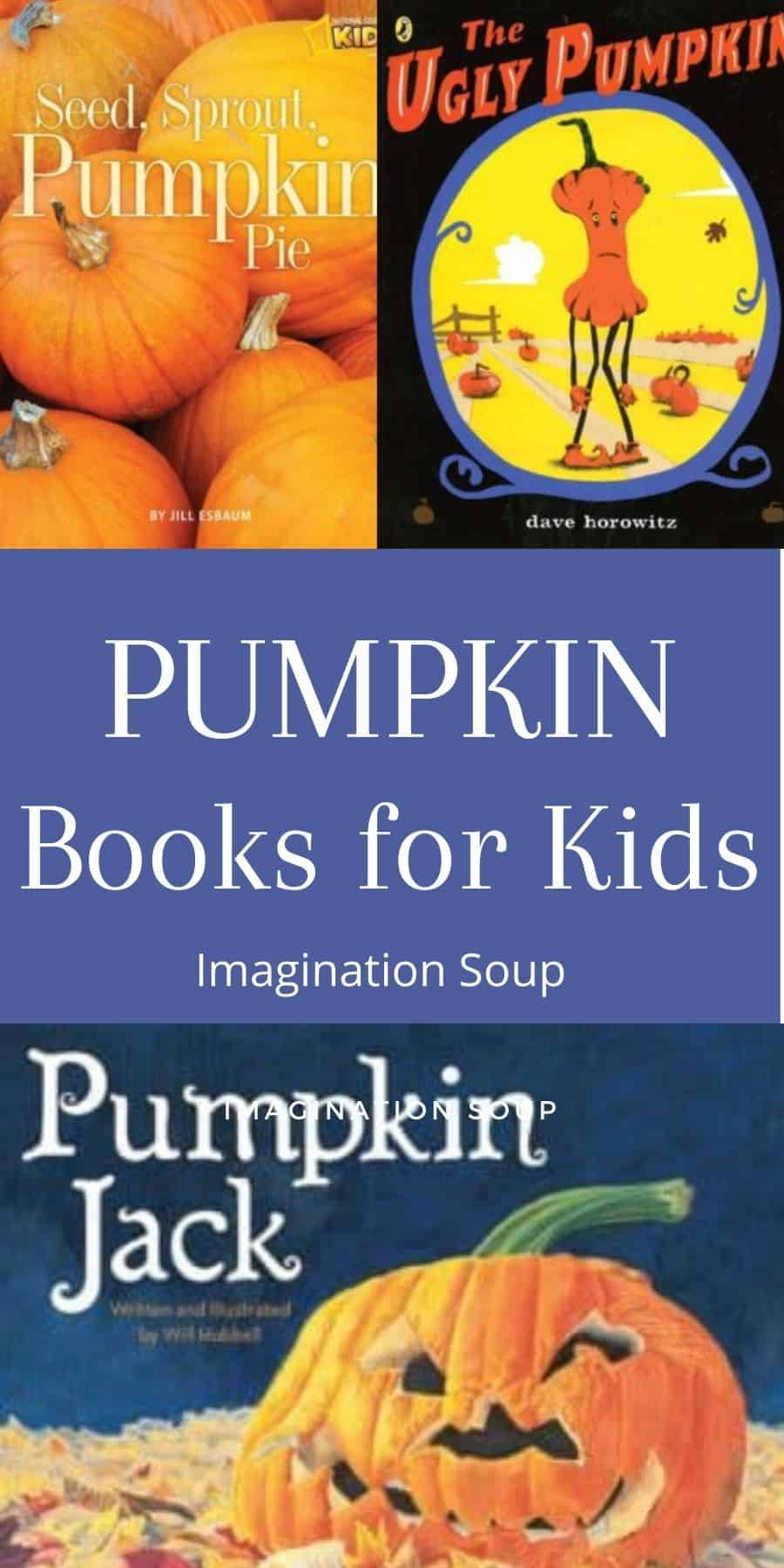books for kids about pumpkins