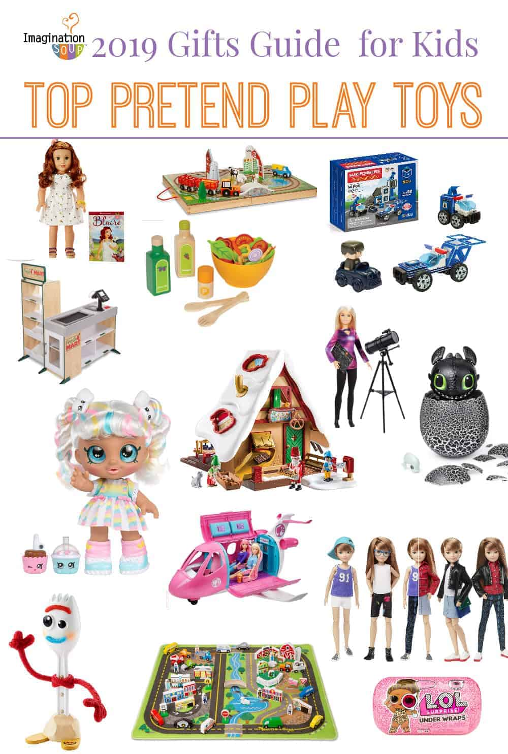 top pretend play toys and gifts for kids 2019