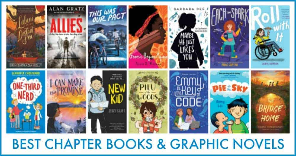 2019 BEST CHAPTER BOOKS AND GRAPHIC NOVELS FOR KIDS